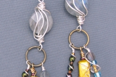 Sunken Treasures Earrings 2 - WirednTwistednStoned