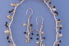 Tree Branch Necklace & Earrings 1 - WirednTwistednStoned