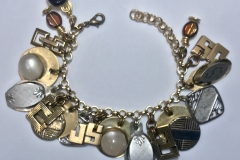 Commissioned Cuff Link Bracelet - WirednTwistednStoned