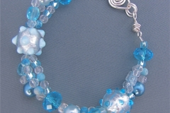 Winter Wonderland Bracelet 1 - WirednTwistednStoned