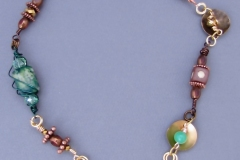 Enchanted Evening Necklace - $100.00 - Elizabeth L. Strugatz - Going Local NC - 06 - WirednTwistednStoned