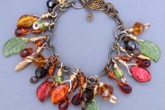 Falling Leaves Bracelet 1 -WirednTwistednStoned